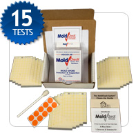 air and surface test kit, test and re-test