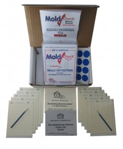 the contents of the MoldCheck Test Kit